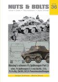 [Nuts-Bolt_Vol36] ビュッシングNAG社の重装甲車 Part.2:Sd.kfz.233/263,砲性能試験車 8輪重装甲車