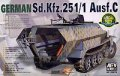 AFV Club[FV35078] 1/35 Sd.kfz.251/1 Ausf.C