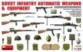 ミニアート[MA35154] 1/35 ソビエト歩兵用機関銃・装備セット