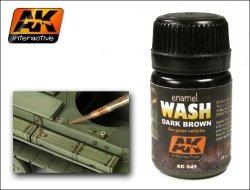 画像1: AKインタラクティブ[AK045]グリーン塗装用ダークブラウン