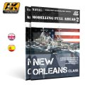 AKインタラクティブ[AK895]書籍モデリングフルアヘッド2 ニューオリンズ級重巡洋艦