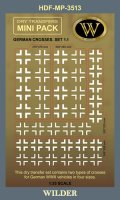 ワイルダー[MP3513]WWII ドイツ軍鉄十字マーキング1.1 ホワイト