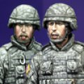 Alpine Miniatures[AM35071]アメリカAFVクルーセット (現用)