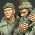 Alpine Miniatures[AM35095]WWII アメリカ軍将校セット