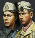 Alpine Miniatures[AM35104]枢軸軍、砂漠での打ち合わせ