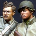 Alpine Miniatures[AM35110]WW2  米 歩兵セット(2体)
