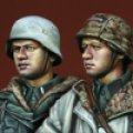 Alpine Miniatures[AM35113]ドイツ 武装SS 擲弾兵 大戦末期 セット(2体)