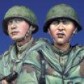 Alpine Miniatures[AM35129]WWII ロシアスカウト兵セット(2体)