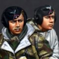 Alpine Miniatures[AM35132]WWII 独 パンタークルーセット(2体)
