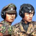 Alpine Miniatures[AM35141]武装親衛隊戦車コマンダー セット (2体)