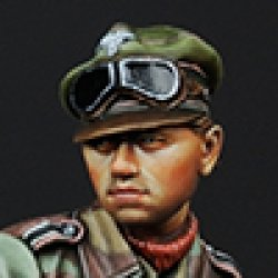 画像1: Alpine Miniatures[AM35145]もたれかかる武装親衛隊戦車兵