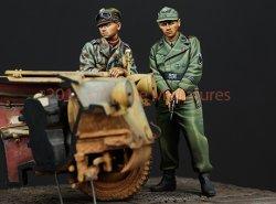 画像2: Alpine Miniatures[AM35147]武装親衛隊戦車クルーセット(2体)