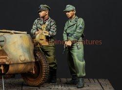 画像3: Alpine Miniatures[AM35147]武装親衛隊戦車クルーセット(2体)