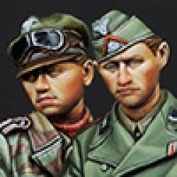 画像1: Alpine Miniatures[AM35147]武装親衛隊戦車クルーセット(2体)