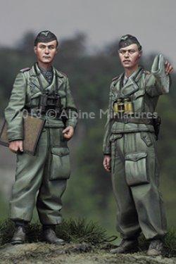 画像3: Alpine Miniatures[AM35150]オットーカリウスと下士官セット(2体)