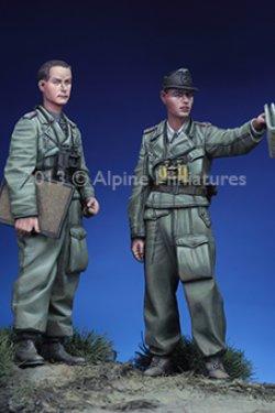 画像5: Alpine Miniatures[AM35150]オットーカリウスと下士官セット(2体)