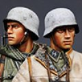 Alpine Miniatures[AM35153]1/35 独 武装親衛隊擲弾兵セット(2体)