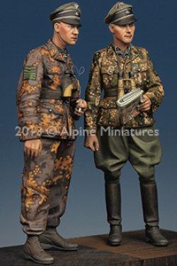 画像4: Alpine Miniatures[AM35165]1/35マイヤーと将校セット(ノルマンディ戦)
