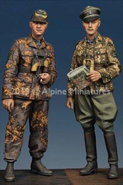 画像2: Alpine Miniatures[AM35165]1/35マイヤーと将校セット(ノルマンディ戦)