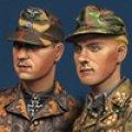 Alpine Miniatures[AM35165]1/35マイヤーと将校セット(ノルマンディ戦)