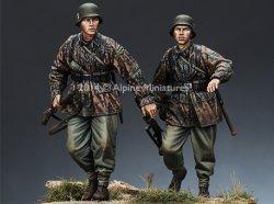 画像2: Alpine Miniatures[AM35168]1/35武装親衛隊歩兵 M42迷彩スモック