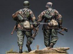 画像3: Alpine Miniatures[AM35168]1/35武装親衛隊歩兵 M42迷彩スモック