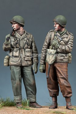画像3: Alpine Miniatures[AM35171]1/35 WWII 米BAR銃手&歩兵 2体セット