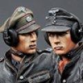 Alpine Miniatures[AM35174]1/35 武装親衛隊装甲部隊指揮官(革ジャケット着用)2体セット