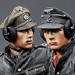 画像1: Alpine Miniatures[AM35174]1/35 武装親衛隊装甲部隊指揮官(革ジャケット着用)2体セット