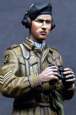 画像1: Alpine Miniatures[AM35179]WWII 英 王室戦車軍団 戦車兵 #2