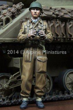 画像2: Alpine Miniatures[AM35180]WWII 英 王室戦車軍団 戦車兵 (2体セット)