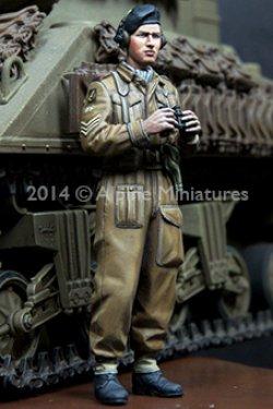 画像5: Alpine Miniatures[AM35180]WWII 英 王室戦車軍団 戦車兵 (2体セット)