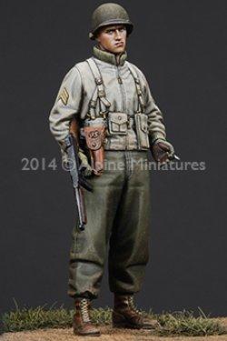 画像2: Alpine Miniatures[AM35184]  1/35 WWII米 歩兵下士官(機甲部隊用冬ジャケット着用)