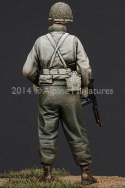画像3: Alpine Miniatures[AM35184]  1/35 WWII米 歩兵下士官(機甲部隊用冬ジャケット着用)