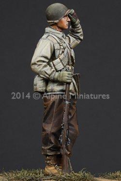 画像4: Alpine Miniatures[AM35185] 1/35 WWII米 歩兵(M43ジャケット冬装)