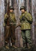 Alpine Miniatures[AM35204]1/35  WWII米 歩兵(防寒着)セット(2体セット)