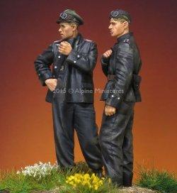 画像2: Alpine Miniatures[AM35207]1/35 武装親衛隊 AFVクルーセット Uボートジャケット 1944-45(2体セット)