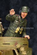 Alpine Miniatures[AM35208]1/35 WWII独 ティーガー指揮官 チュニジア