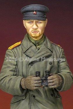 画像3: Alpine Miniatures[AM35214]1/35 WWII露 戦車指揮官(防寒コート)