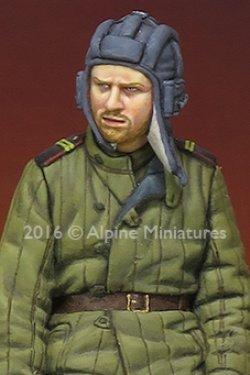 画像2: Alpine Miniatures[AM35215]1/35 WWII露 戦車兵(テログレイカ)