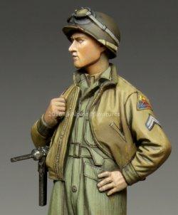 画像2: Alpine Miniatures[AM35217]1/35 WWII米 第3機甲師団 伍長(HBTツナギ)