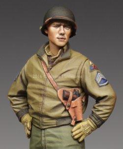 画像2: Alpine Miniatures[AM35218]1/35 WWII米 第3機甲師団 二等軍曹(タンカージャケット)