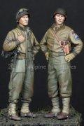 Alpine Miniatures[AM35219]1/35 WWII米 第3機甲師団 乗員(2体セット)