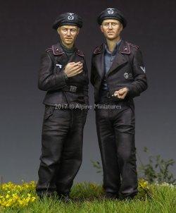 画像5: Alpine Miniatures[AM35228]1/35 WWII独 国防軍戦車クルー (2体セット)(パンツァージャケット)