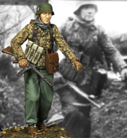 画像1: Alpine Miniatures[AM35229]1/35 WWII独 武装親衛隊下士官 ハンセン戦闘団 #1