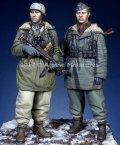 Alpine Miniatures[AM35237]1/35 WWII独 武装親衛隊 第三次ハリコフ戦(2体セット)