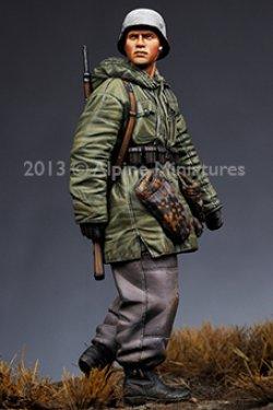 画像3: Alpine Miniatures[S0003]「冬季パトロール」武装親衛隊 4体セット(200セット限定)