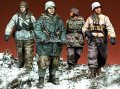 Alpine Miniatures[S0003]「冬季パトロール」武装親衛隊 4体セット(200セット限定)