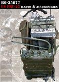Bravo6[B6-35077]1/35 米 PRC-25携行無線機&アクセサリーセット