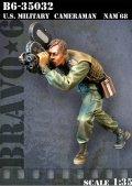 Bravo6[B6-35032]1/35 従軍カメラマン ベトナム'68